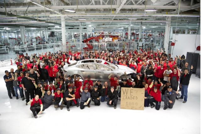 Tesla Motors team