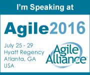 Agile 2016 Speaker